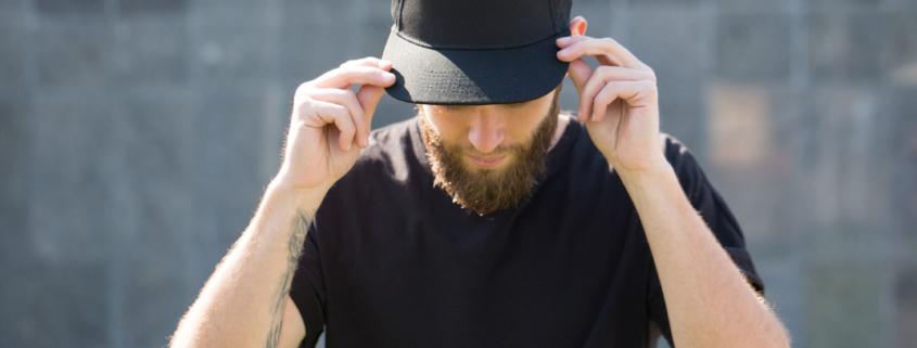 Cappellini a visiera piatta personalizzabili