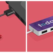 Hub USB personalizzabile