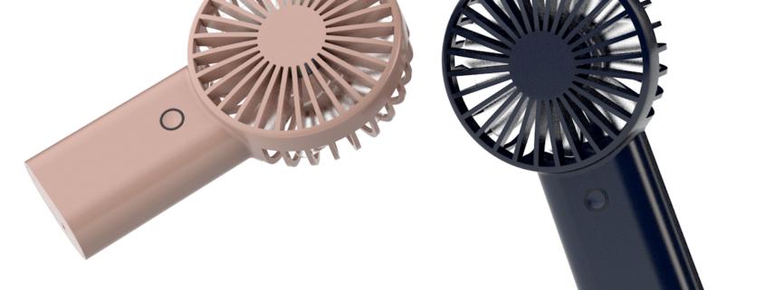Mini ventilatore personalizzabile