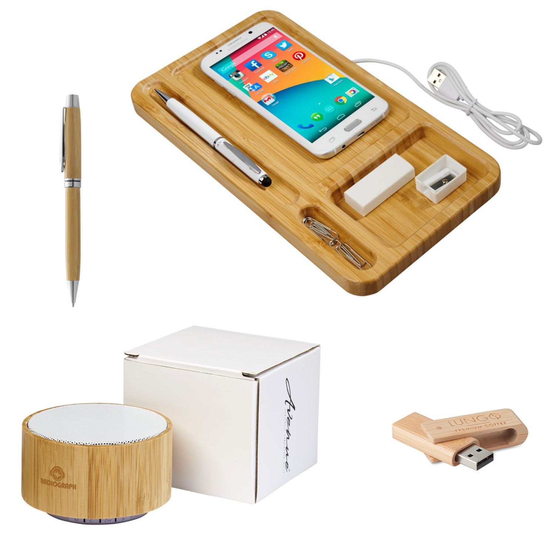 Gadget promozionali in bambù 1