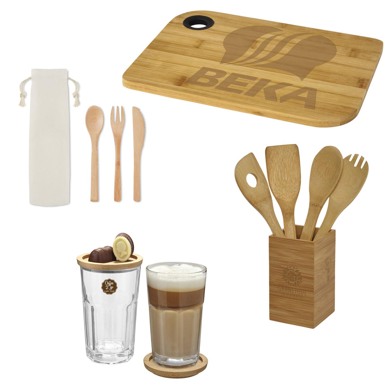 Gadget promozionali in bambù 2