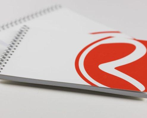 COSE PER COMUNICARE - Blocco note personalizzato con spirale metallica